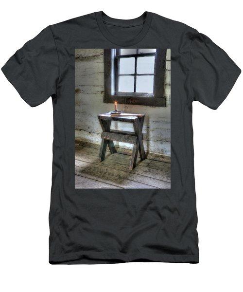 Men's T-Shirt (Slim Fit) featuring the digital art Bedford Village 2 by Sharon Batdorf