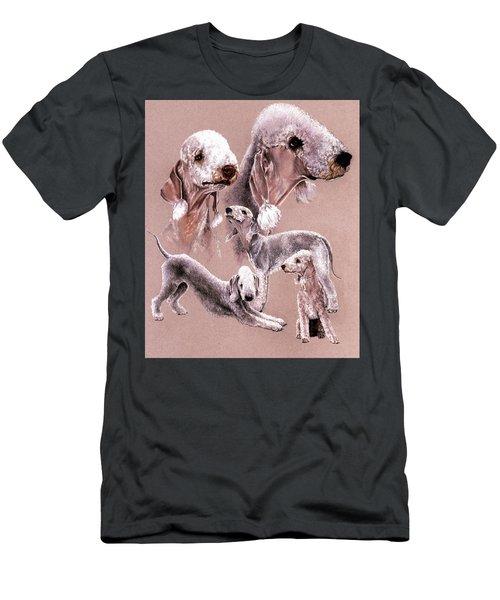 Bedlington Terrier Men's T-Shirt (Athletic Fit)