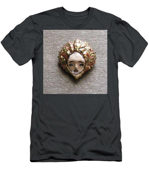 Men's T-Shirt (Slim Fit) featuring the photograph Before Pixel Pointillism by R  Allen Swezey