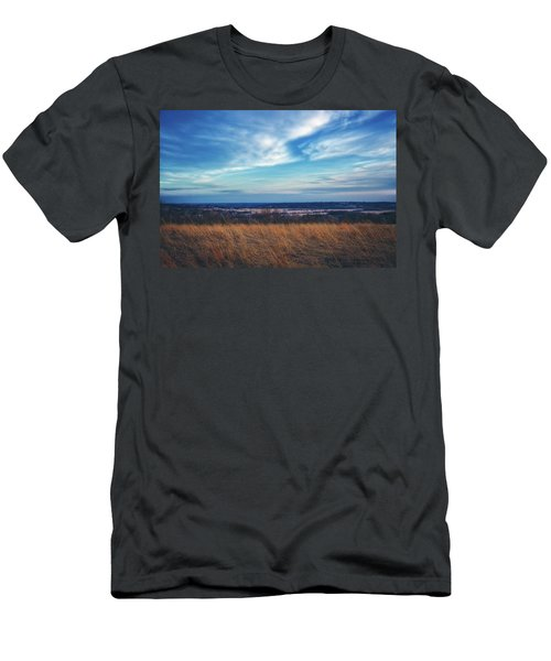 Men's T-Shirt (Slim Fit) featuring the photograph Before Sunset At Retzer Nature Center - Waukesha by Jennifer Rondinelli Reilly - Fine Art Photography