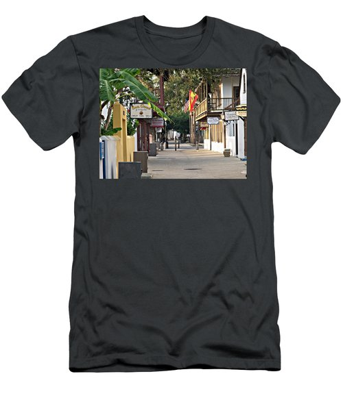 Before The Tourists 1 Men's T-Shirt (Athletic Fit)