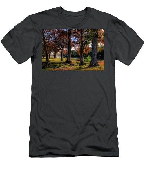 Beginning Of Fall In Texas Men's T-Shirt (Athletic Fit)