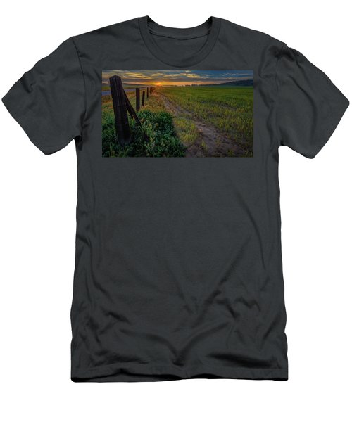 Men's T-Shirt (Athletic Fit) featuring the photograph Beginning by Tim Bryan