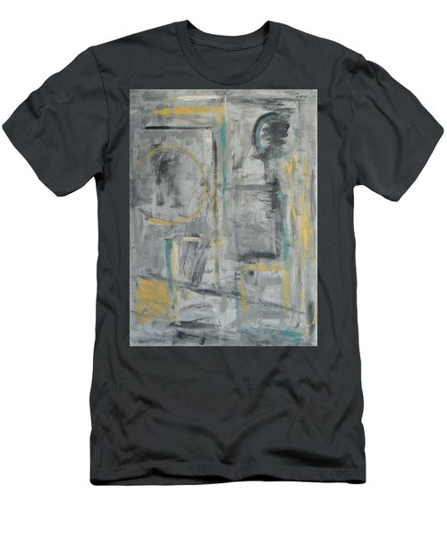 Behind The Door Men's T-Shirt (Slim Fit) by Trish Toro