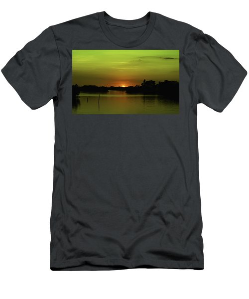 Behind The Horizon Men's T-Shirt (Athletic Fit)