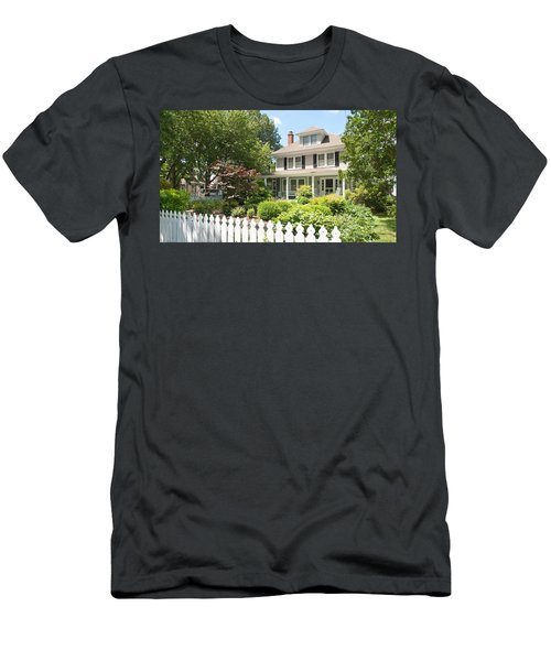 Behind The Picket Fence Men's T-Shirt (Athletic Fit)