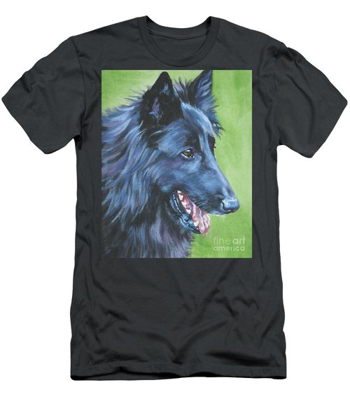 Belgian Sheepdog Men's T-Shirt (Athletic Fit)