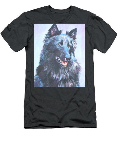 Belgian Sheepdog Portrait Men's T-Shirt (Athletic Fit)