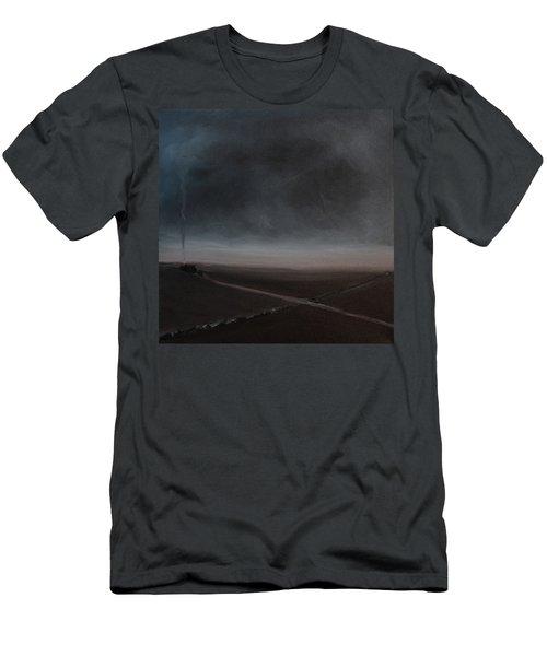 Belgian Wintertime Men's T-Shirt (Slim Fit) by Tone Aanderaa