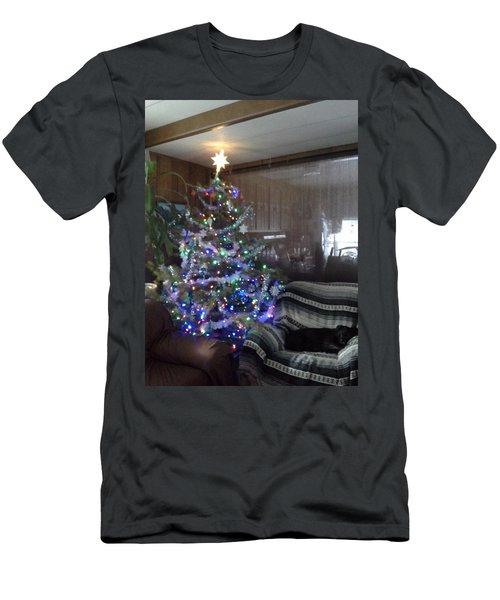 Men's T-Shirt (Slim Fit) featuring the photograph Bella Christmas 2013 by Jewel Hengen