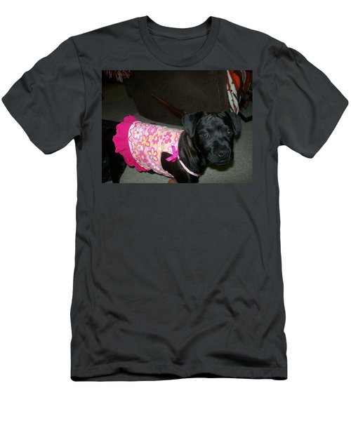 Men's T-Shirt (Slim Fit) featuring the photograph Bella In Swimsuit by Jewel Hengen