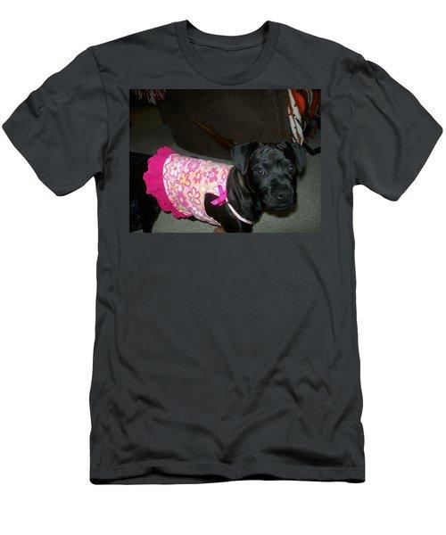 Bella In Swimsuit Men's T-Shirt (Slim Fit) by Jewel Hengen
