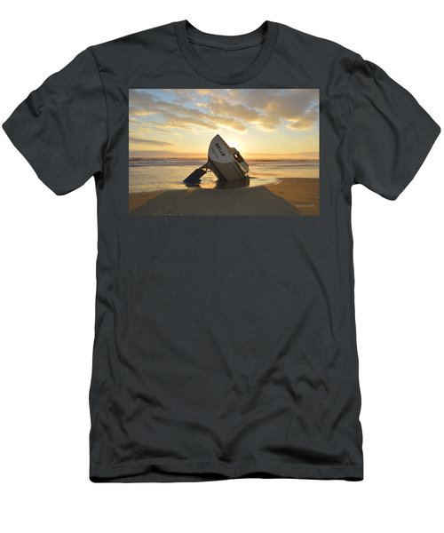 Men's T-Shirt (Athletic Fit) featuring the photograph Belle At Sunrise by Barbara Ann Bell