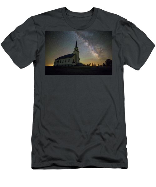 Men's T-Shirt (Athletic Fit) featuring the photograph Belleview by Aaron J Groen