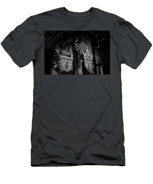 Men's T-Shirt (Slim Fit) featuring the photograph Belmont Abbey by Jessica Brawley