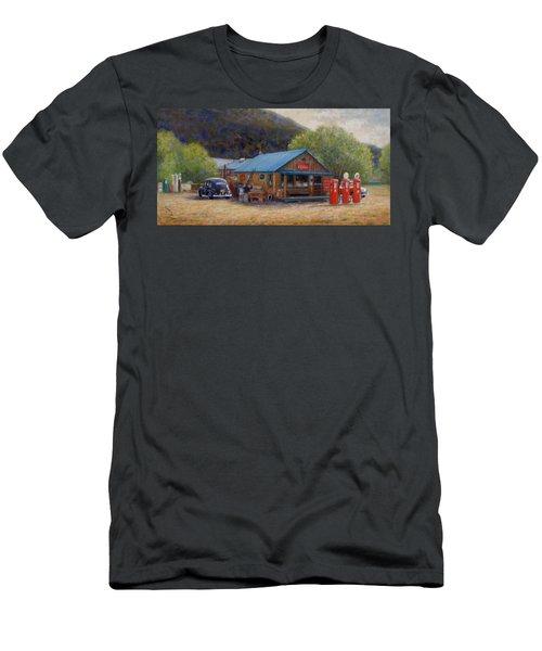 Below Taos 2 Men's T-Shirt (Athletic Fit)