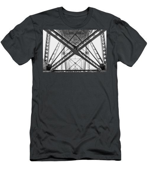 Under The Bridge  Men's T-Shirt (Athletic Fit)
