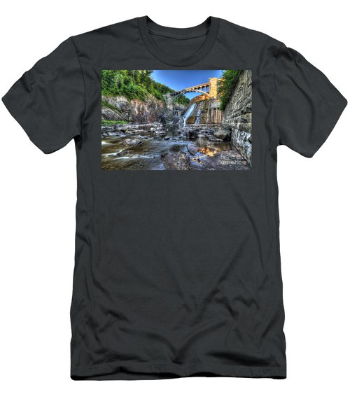 Below The Dam Men's T-Shirt (Athletic Fit)