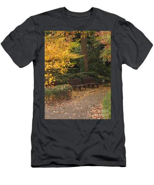 Benches In The Park Men's T-Shirt (Athletic Fit)