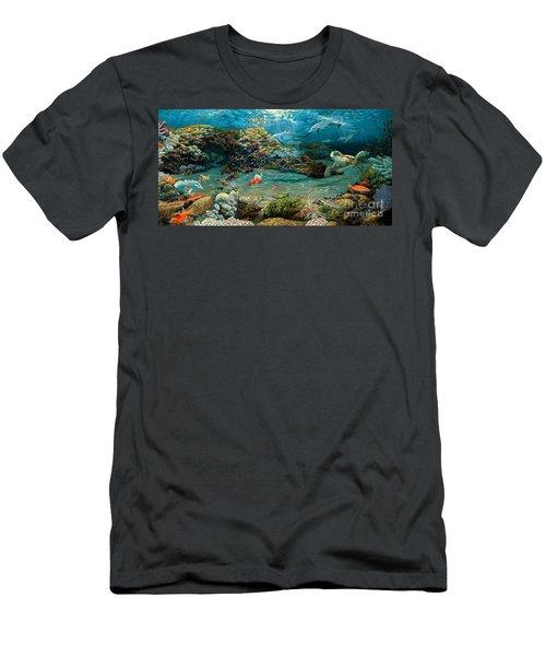 Beneath The Sea Men's T-Shirt (Slim Fit) by Ruanna Sion Shadd a'Dann'l Yoder