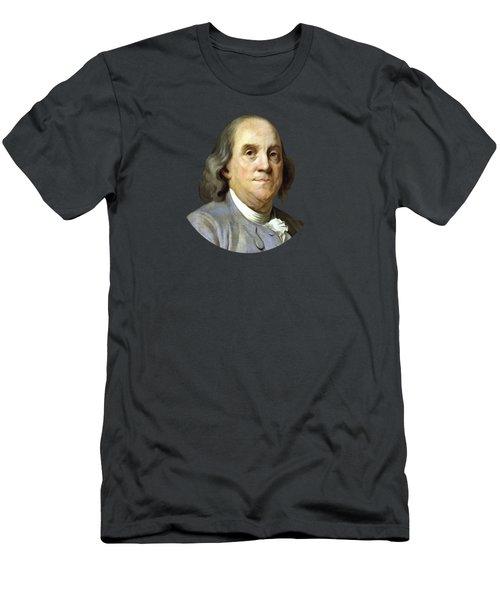 Benjamin Franklin Men's T-Shirt (Slim Fit) by War Is Hell Store