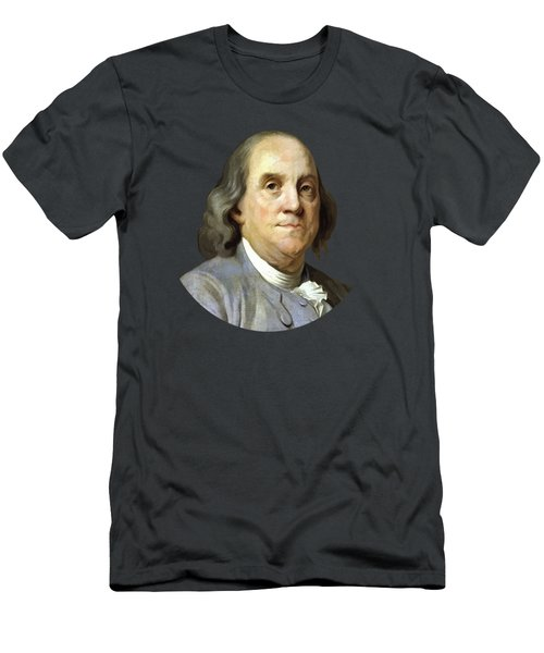 Benjamin Franklin Painting Men's T-Shirt (Athletic Fit)
