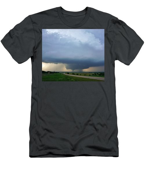 Bennington Tornado - Inception Men's T-Shirt (Athletic Fit)
