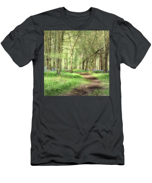 Bentley Woods, Warwickshire #landscape Men's T-Shirt (Athletic Fit)