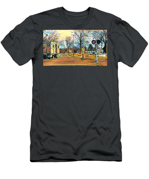 Berkeley Heights Train Men's T-Shirt (Athletic Fit)