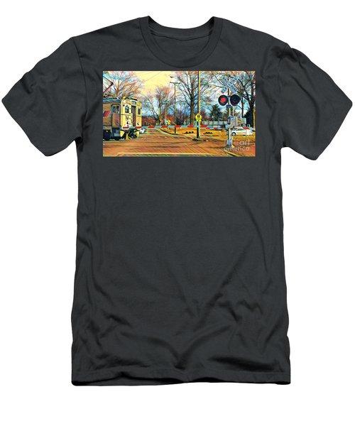 Berkeley Heights Train Men's T-Shirt (Athletic Fit)
