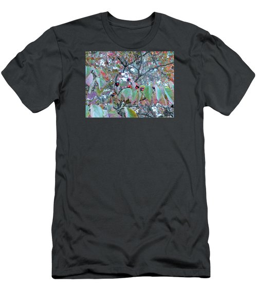 Men's T-Shirt (Slim Fit) featuring the photograph Berries by Kay Gilley