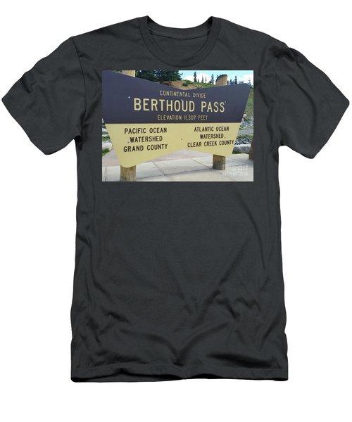Berthoud Pass Men's T-Shirt (Athletic Fit)