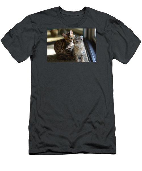 Best Buds Men's T-Shirt (Athletic Fit)