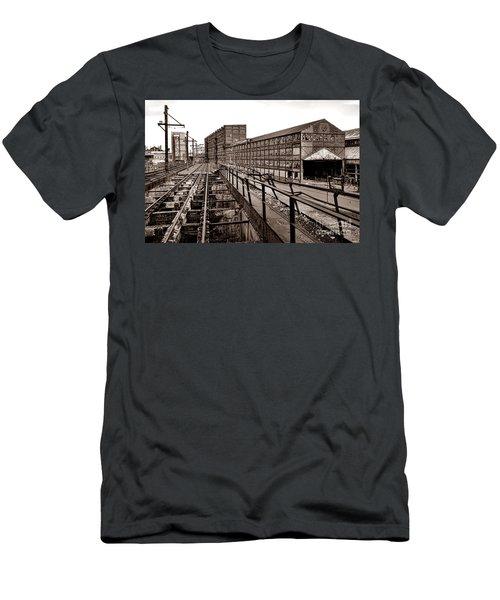 Bethlehem Steel Number Two Machine Shop Men's T-Shirt (Athletic Fit)