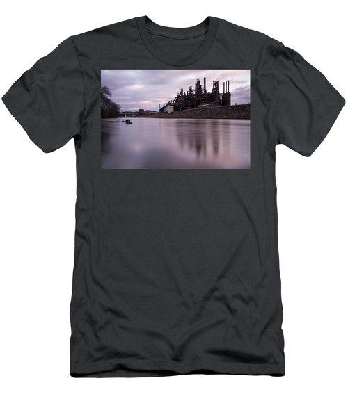 Bethlehem Steel Sunset Men's T-Shirt (Athletic Fit)
