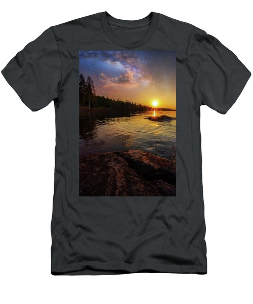 Between Heaven And Earth Men's T-Shirt (Athletic Fit)