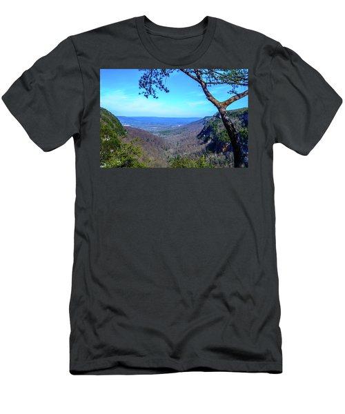 Between The Cliffs Men's T-Shirt (Athletic Fit)