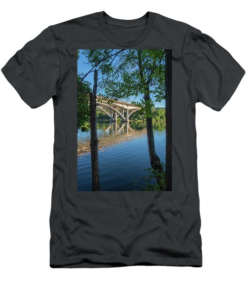 Between The Trees Men's T-Shirt (Athletic Fit)