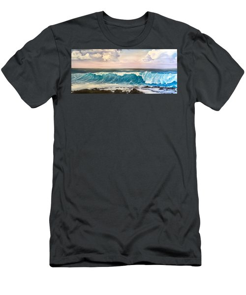 Between The Turtle And The Shark Men's T-Shirt (Athletic Fit)
