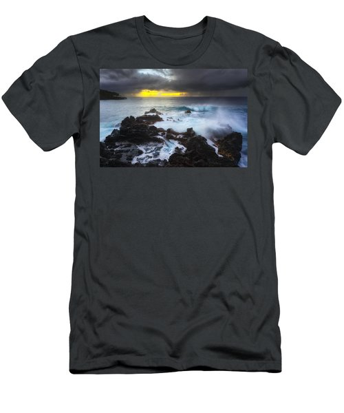 Men's T-Shirt (Slim Fit) featuring the photograph Between Two Storms by Ryan Manuel