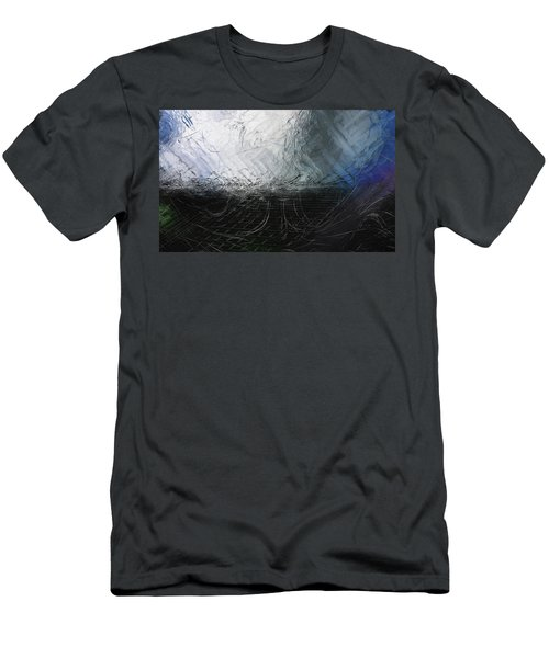 Men's T-Shirt (Athletic Fit) featuring the digital art Between Us, This Melancholy Sea by Wendy J St Christopher