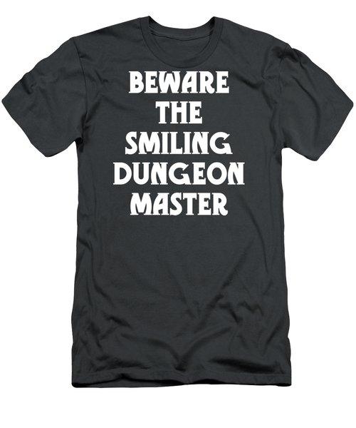 Beware The Smiling Dungeon Master Men's T-Shirt (Slim Fit)