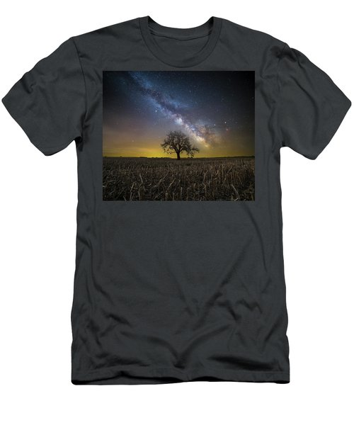 Men's T-Shirt (Slim Fit) featuring the photograph Beyond by Aaron J Groen