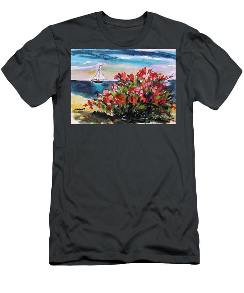 Beyond Sea Roses Men's T-Shirt (Athletic Fit)