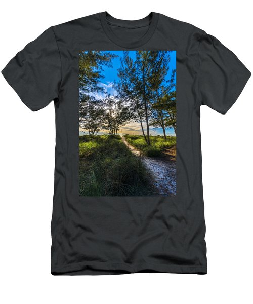 Beyond The Green Grass Men's T-Shirt (Athletic Fit)