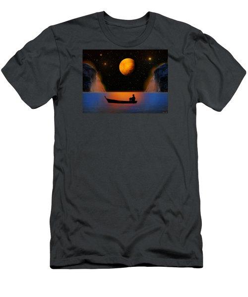Men's T-Shirt (Slim Fit) featuring the photograph Beyond The Stars by Bernd Hau