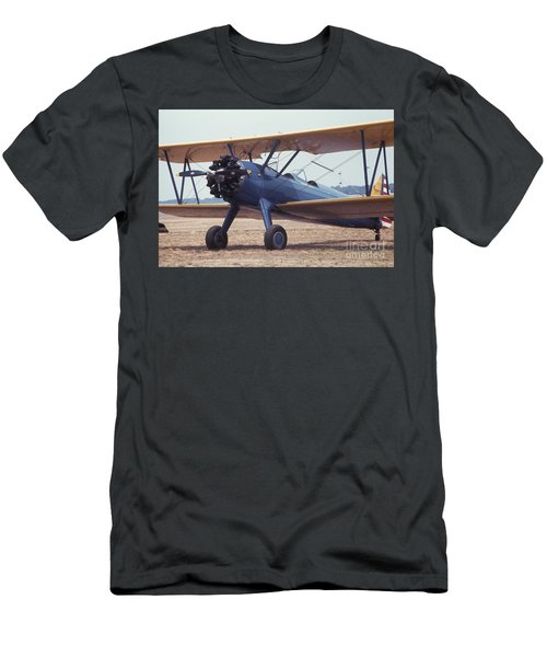 Men's T-Shirt (Athletic Fit) featuring the photograph Bi-wing-8 by Donald Paczynski