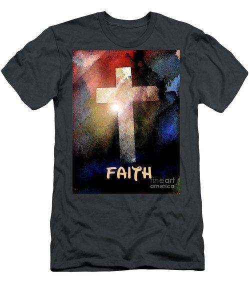 Biblical-faith Men's T-Shirt (Athletic Fit)