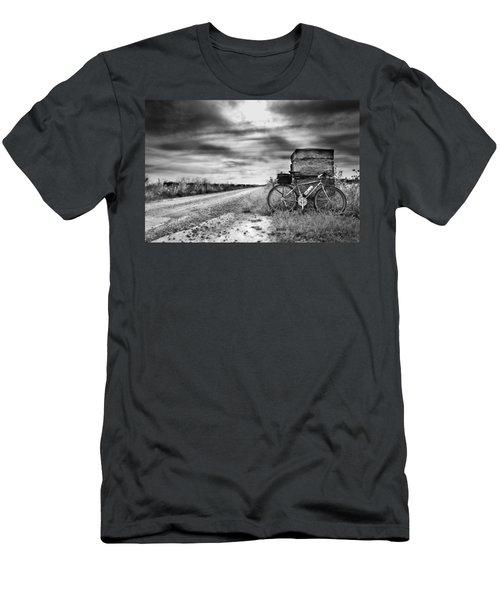 Bicycle Break Men's T-Shirt (Athletic Fit)