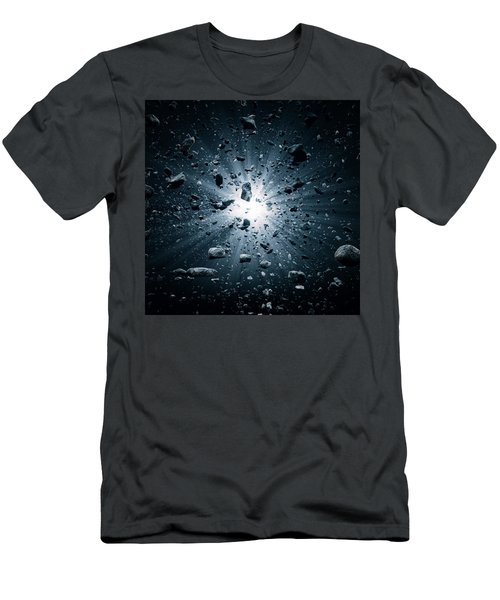 Big Bang Explosion In Space Men's T-Shirt (Athletic Fit)